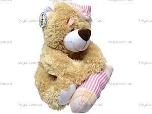 Медведь музыкальный, с подушкой, XJ61069, отзывы