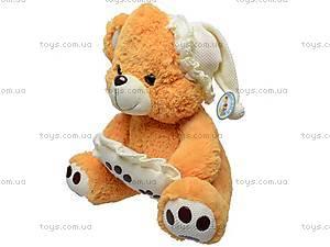 Медведь музыкальный с подушкой, JJ 059340, купить