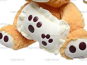 Медведь музыкальный с подушкой, JJ 059340, фото