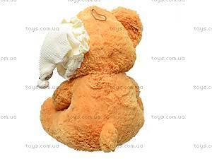 Медведь музыкальный с подушкой, JJ 059340, отзывы