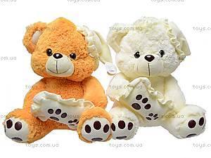 Медведь музыкальный с подушкой, JJ 059340