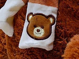 Медведь музыкальный с шарфом, JX6547-1/18, купить