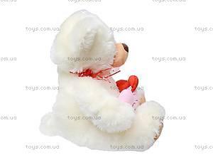 Медведь музыкальный «Валентинка», S-S38-3360/38, купить