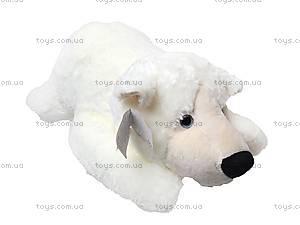Медведь мягкий детский, белый, К106ВМ, купить