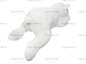 Медведь мягкий детский, белый, К106ВМ, фото