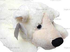 Медведь мягкий детский, белый, К106ВМ, отзывы