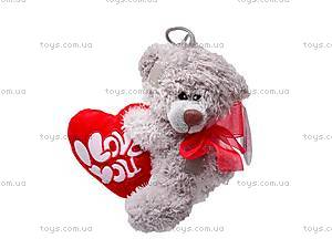 Медведь плюшевый с сердечком, ABX18774/15, фото