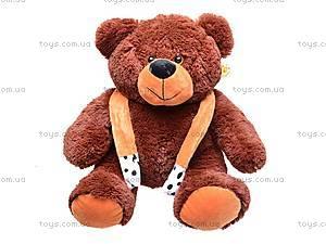 Медведь плюшевый с шарфиком, 5084/40