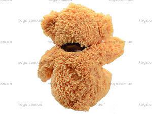 Мягкий медвежонок с бантом, S-JY-4505S70, купить