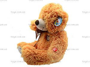 Мягкий медвежонок с бантом, S-JY-4505S70, фото