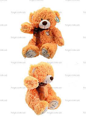 Мягкий медвежонок с бантом, S-JY-4505S70