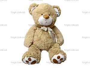 Медведь с бантом, плюшевый, S-JY-4051/50S