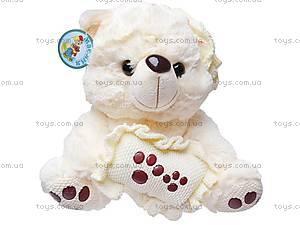 Медведь с подушкой, S38-0593, фото