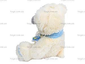 Медведь с шарфом, музыкальный, B21488, купить