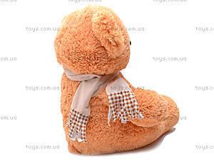 Медведь с шарфом, плюшевый, S-JY-3271A, купить
