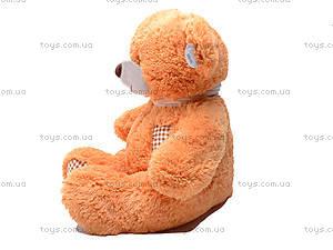 Медведь с шарфом, плюшевый, S-JY-3271A, фото