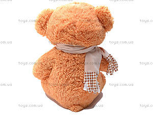 Медведь с шарфом, плюшевый, S-JY-3271A, отзывы