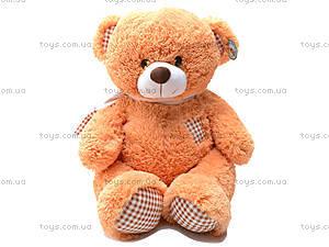 Медведь с шарфом, плюшевый, S-JY-3271A