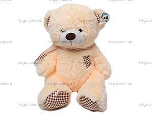 Медведь с шарфом, плюшевый, S-JY-3271A, игрушки