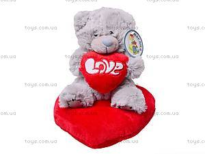 Медведь «Тедди» с сердечком, AB8737/B