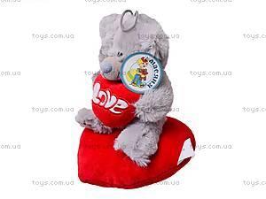 Медведь «Тедди» с сердечком, AB8737/B, фото