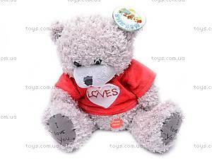 Медведь «Тедди» в футболке, музыкальный, GC12001/8
