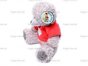 Медведь «Тедди» в футболке, музыкальный, GC12001/8, игрушки