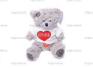 Медведь «Тедди» в футболке, музыкальный, GC12001/8, детские игрушки
