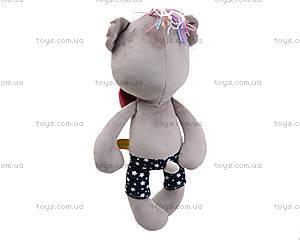 Мягкая игрушка «Медведь Вивьен», К383В, фото