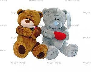 Медвежонок-валентинка в заплатках, KR-6093