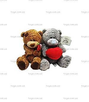Мягкий медвежонок в заплатках в свитере, KR-6181