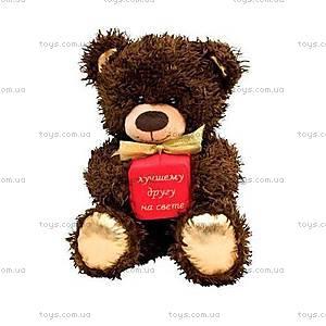 Медвежонок «Чиба», с подарком, МЧП01