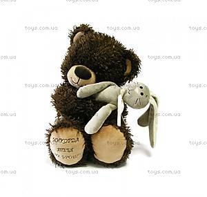 Медвежонок «Чиба», с зайцем, МЧЗ01