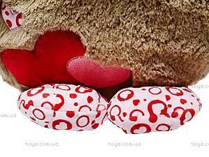 Медвежонок-круглик «Влюблённый», К322А, фото