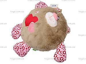 Медвежонок-круглик «Влюблённый», К322А, игрушки