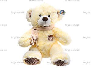Мягкая игрушка «Медвежонок» с музыкальным эфектом, JY327140SK
