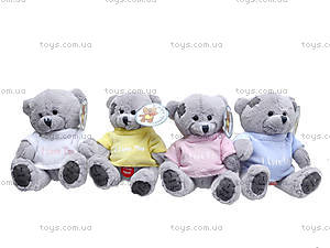 Мягкий медвежонок «Тедди», в футболке, GC98210, цена