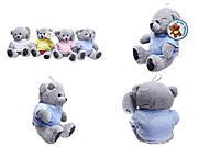 Мягкая игрушка «Тедди Бир», в футболке, GC9828, купить