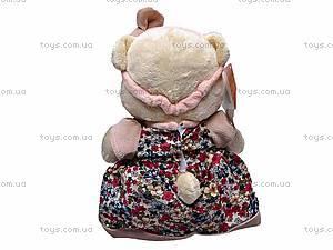 Медвежонок мягкий «Жанет», К245В, отзывы