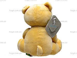 Мягкий медвежонок «Потап», К159Р, фото
