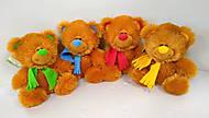 Медвежонок в шарфе, 4 цвета, 10.11.01, купить