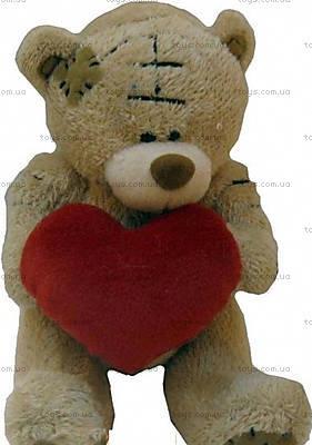 Медвежонок в заплатках с подарком, KR-7783