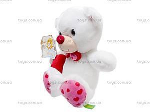 Медвежонок-валентинка, К324А, купить