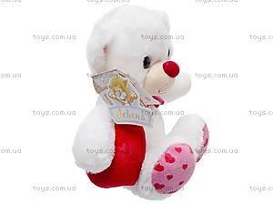 Медвежонок-валентинка, К324А, фото