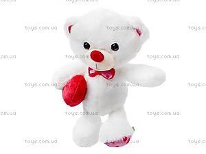Медвежонок-валентинка, К324А