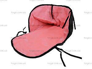 Меховой матрасик для санок «Цветной», , фото