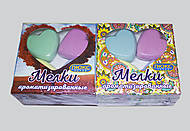 Мел ароматизированный цветной «Сердечко», М3-4, фото