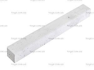 Мел белый квадратный, 100 штук, 400063, фото