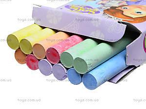 Мел цветной «София», 12 штук, 400116, купить