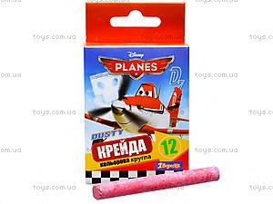 Мел цветной «Самолеты», 12 штук, 400117, купить